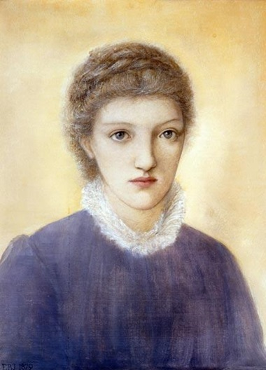 Sir Edward Coley Burne-Jones, Bt., A.R.A., R.W.S. (1833-1898), Portrait of Frances Graham. This work was sold at Christie's on 10 March 1995
