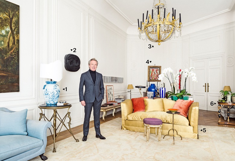 A tour of Edouard Vermeulen\'s Brussels home | Christie\'s