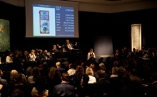 Exceptional sell through rates auction at Christies