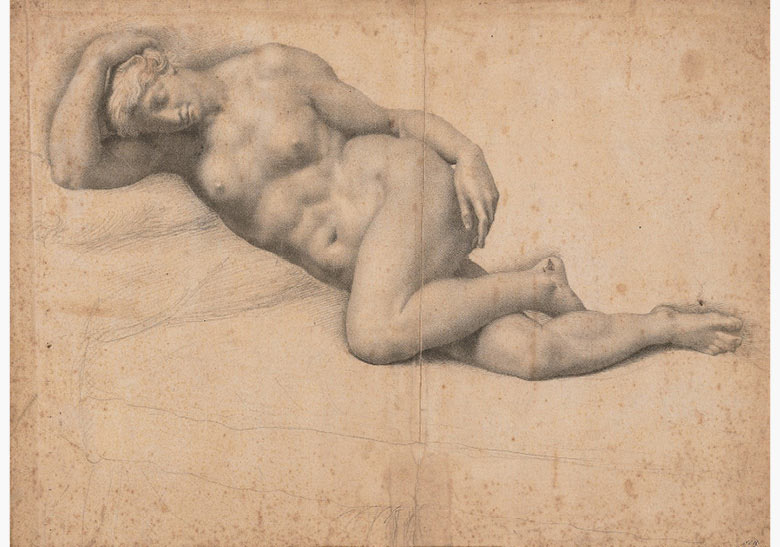Daniele da Volterra (1509-1566), Dido Reclining, Asleep. Estimate £50,000–80,000. This work is offered in Brian Sewell Critic & Collector on 27 September at Christie's London
