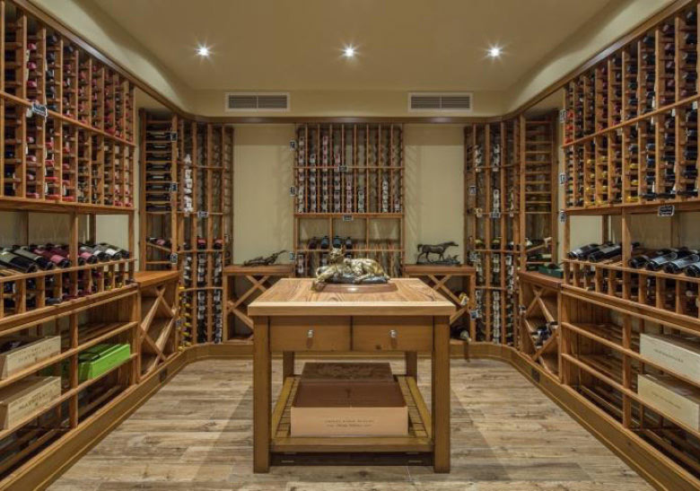 Luxury properties with wine cellars christie 39 s for Luxury home wine cellars