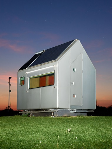 Diogene, 2013, a six-square-metre cabin by Renzo Piano