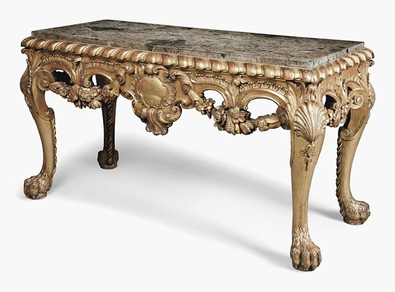 An English Giltwood Side Table Of George Ii Style Late 19thearly 20th Century