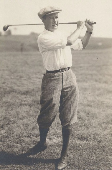 H. Chandler Egan, who captained the victorious Western Golf Association team representing the USA at the 1904 Olympic Games, and won the silver medal in the Olympic individual event