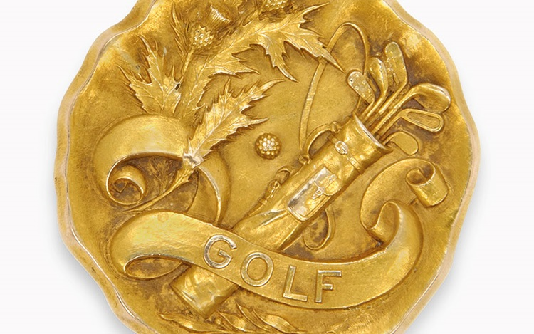 Golfing for gold at the 1904O auction at Christies