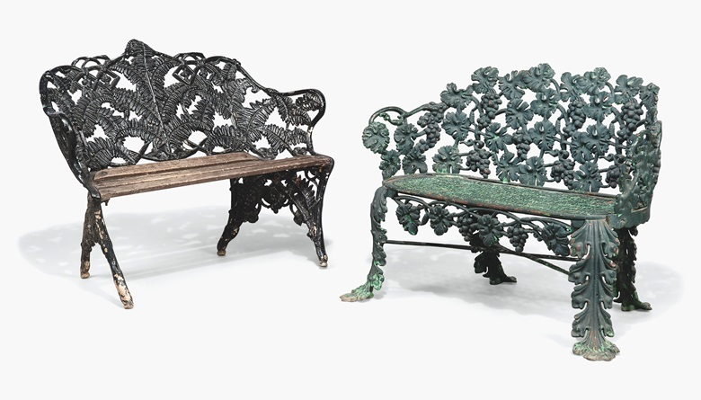 Victorian Cast Iron Garden Seats  Estimate   800 1 200  This lot is offered  in the Interiors sale on 17 August at Christie s South Kensington. 10 chairs in 10 different styles   Christie s
