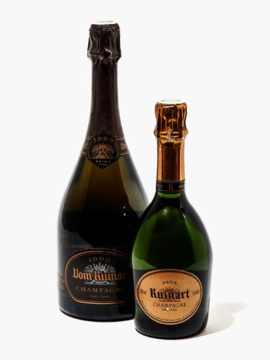 Mixed Dom Ruinart and Mumm (Dom Ruinart Brut 1996 & Non-Vintage Half, Mumm, Cordon Rouge Non-Vintage, Grand Cru Non-Vintage, Rosé Non-Vintage). 18 bottles and 3 half-bottles per lot. Estimate £500-600. 18 bottles and 3 half-bottles per lot. This lot is offered in Wine OnlineLDN, 26 July – 9 August, Online