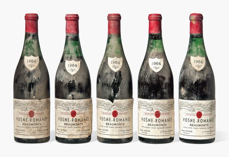 Burgundy vintages 1846-2009 | Christie's