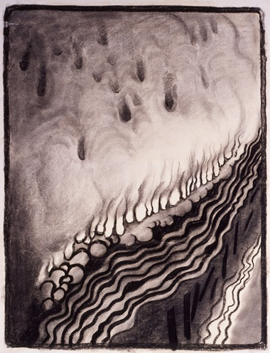 Georgia O'Keeffe 1887-1986. Special No. 9, 1915. Charcoal on paper. 635 x 486 mm. The Menil Collection, Houston © 2016 Georgia OKeeffe MuseumDACS, London