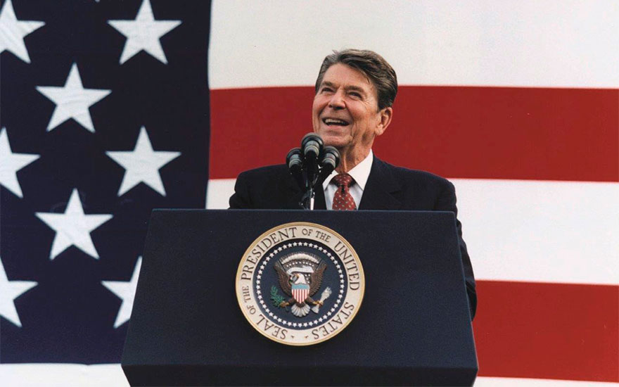 Inside President Reagan's world