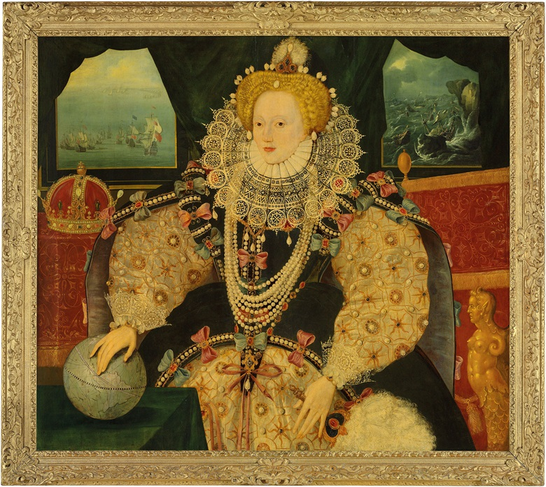 The Armada Portrait of Elizabeth I, English school, circa 1590