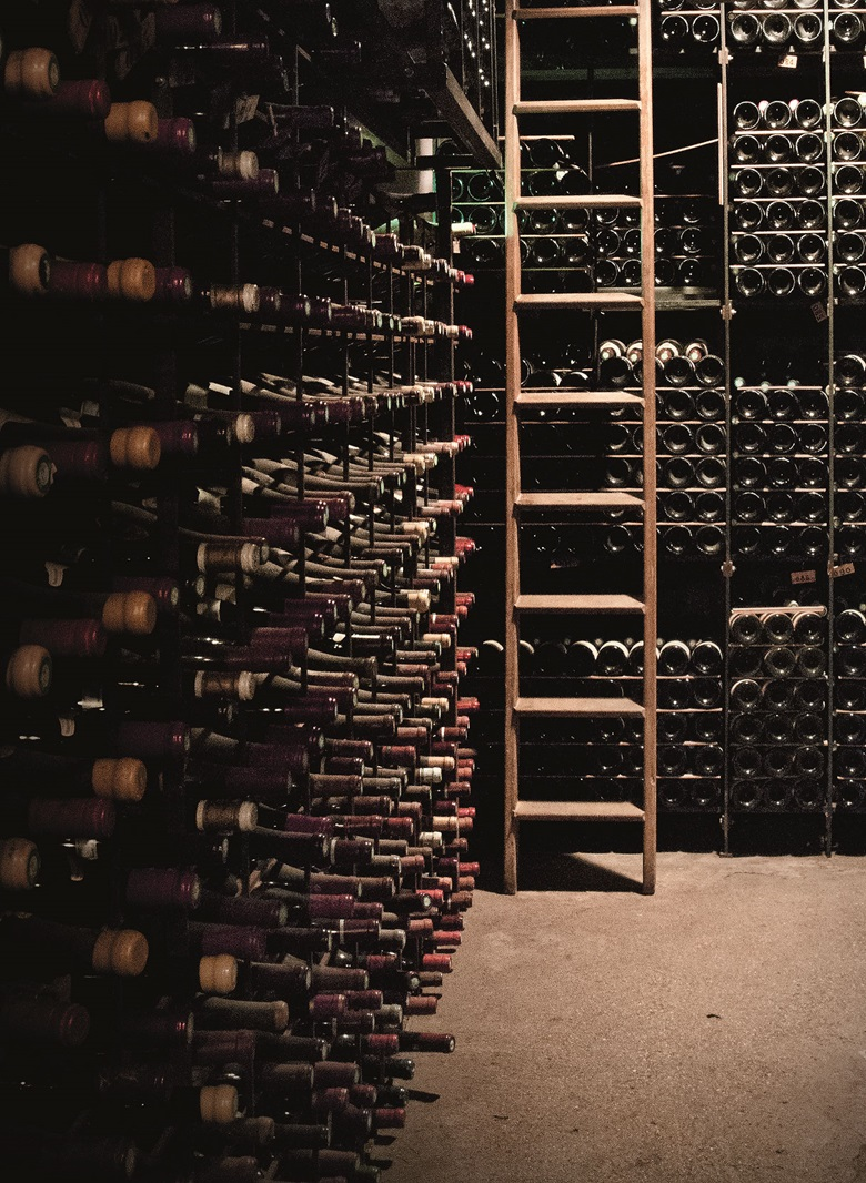 The wine cellar at La Tour dArgent in Paris
