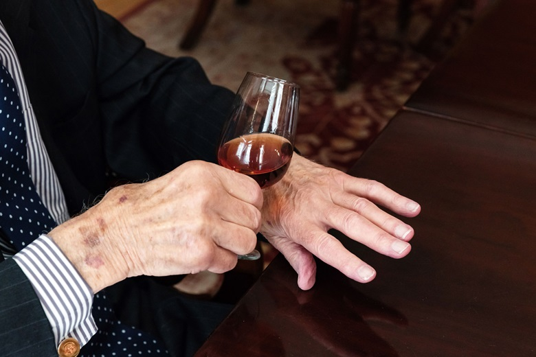 A mid-morning glass of Madeira is a well-established habit for the wine specialist