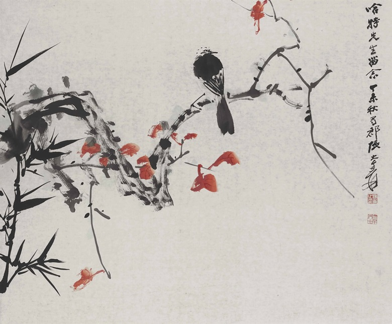 Japanese Artist Famous For Painting Birds