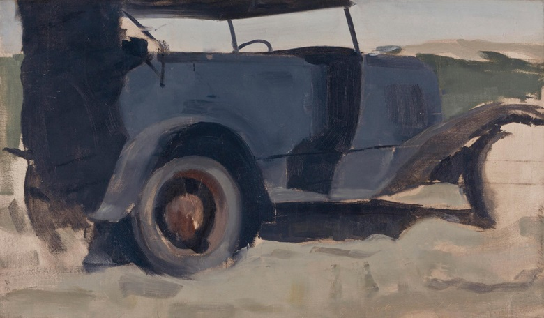 Edwin Walter Dickinson (1891-1978), Our Ford, High Head, 1934. Oil on canvas. 14 x 23 ⅞ in (35.6 x 60.6 cm). Estimate $20,000-30,000. This work is offered in American Art Online, 16-22 September