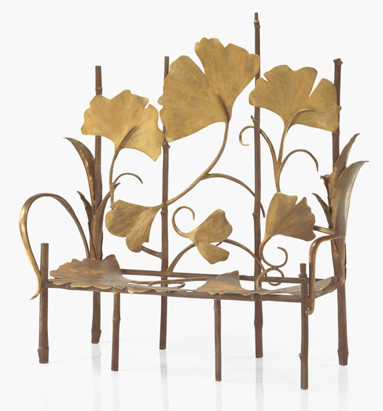Claude Lalanne (b. 1924), A Les Grandes Berces bench, designed 2000. Sold for $425,000 on 17 December 2015 in New York