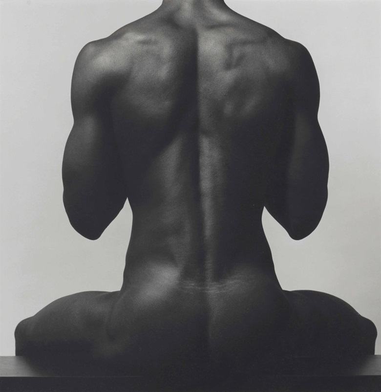 Robert Mapplethorpe (1946–1989), Clifton, 1981. Signed by Michael Ward Stout, executor, in ink and dated in pencil in photographers estate copyright credit stamp and titled, dated and numbered 810 in pencil (flush mount, verso), image 15 x 15 in (38 x 38 cm), sheetflush mount 20 x 16 in (50.8 x 40.7 cm). This lot was offered in Photographs on 5 October 2016 at Christie's in New York