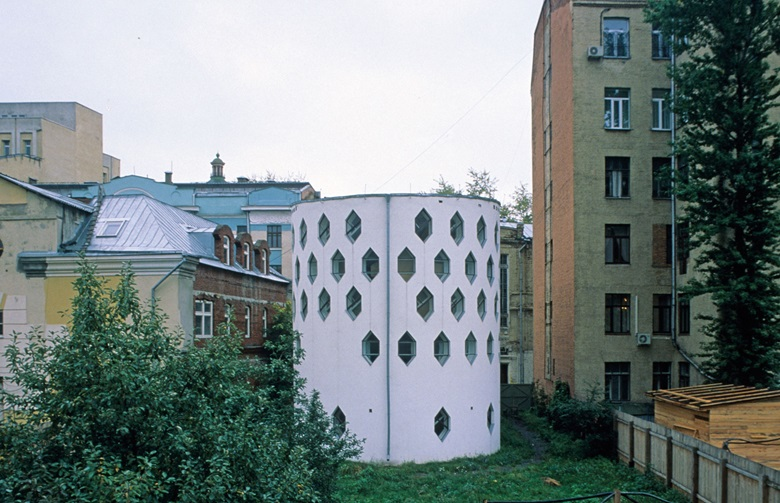 The former home of architect Konstantin Melnikov in Moscow. © Collection ArtediaView