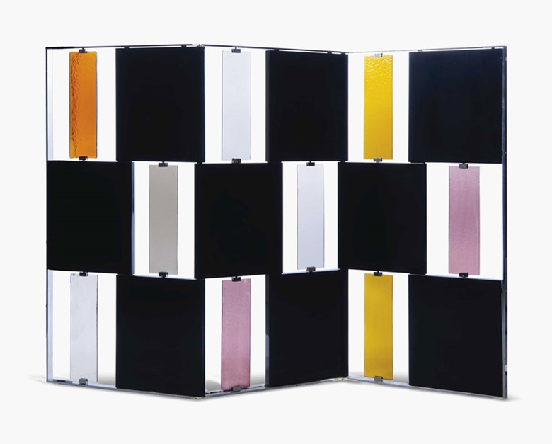 Rodolfo Dordoni (b.  1954), A Davis Screen, 2000s. 63¼ in (160.5 cm) high; 95 in (241 cm) wide; 1¾ in (4 cm) deep. Estimate £7,000-10,000. This lot is offered in Gordon Watson The Collectoron 13 October 2016 at Christie's in London, South Kensington