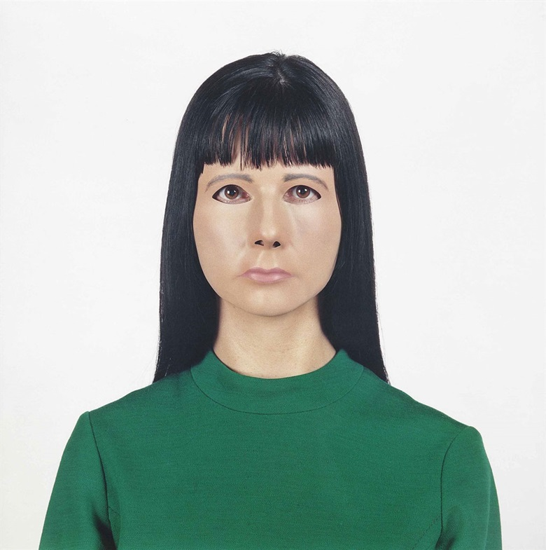 Gillian Wearing (b.  1963), Self Portrait. C-print, image 66½ x 66½ in (169 x 169 cm), sheet 68 x 68 in (172.7 x 172.7 cm). Estimate £15,000-20,000. This lot is offered in Post-War & Contemporary Art Day Auction on 7 October 2016 at Christie's in London, King Street