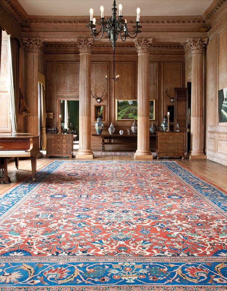 A Large Sultanabad Carpet West Persia C 1890 24 Ft 1 In