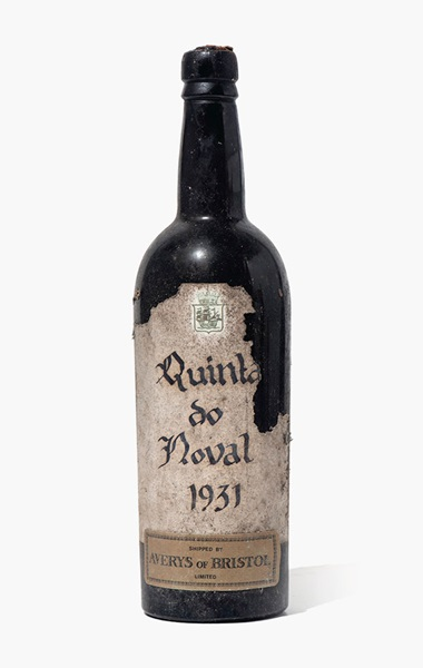 Quinta do Noval 1931. 1 bottle per lot. Estimate £1,500-2,000. This lot is offered in Fine and Rare Wines from The Avery Family Cellar on 20 October 2016 at Christie's in London, King Street