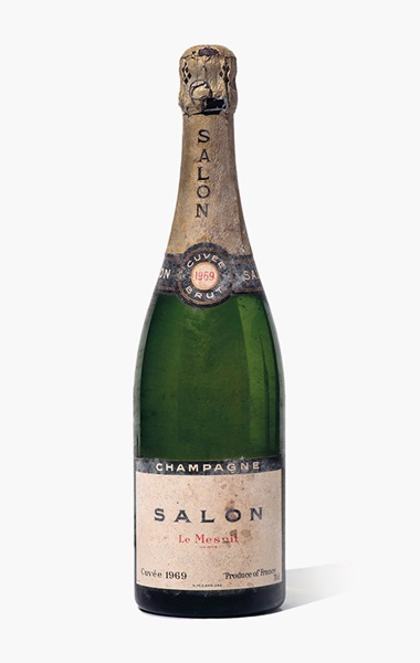 Salon le Mesnil Blanc de Blancs 1969. 2 bottles per lot. Estimate £3,000-4,000. This lot is offered in Fine and Rare Wines from The Avery Family Cellar on 20 October 2016 at Christie's in London, King Street