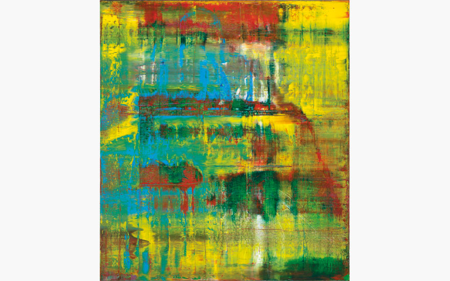 Gerhard Richter (b.  1932), Abstraktes Bild (809-2), 1994. Oil on canvas, 88½ x 78¾ in (225 x 200 cm). Estimate $18,000,000-25,000,000. This lot is offered in Post-War & Contemporary Art