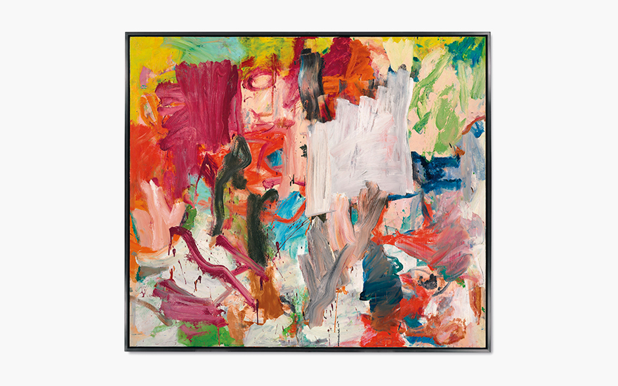Willem De Kooning (1904-1997), Untitled XXV, 1977. Oil on canvas, 77 x 88 in (195.7 x 223.5 cm). Estimate Estimate on request. This lot is offered in Post-War & Contemporary Art Evening Sale  on 15
