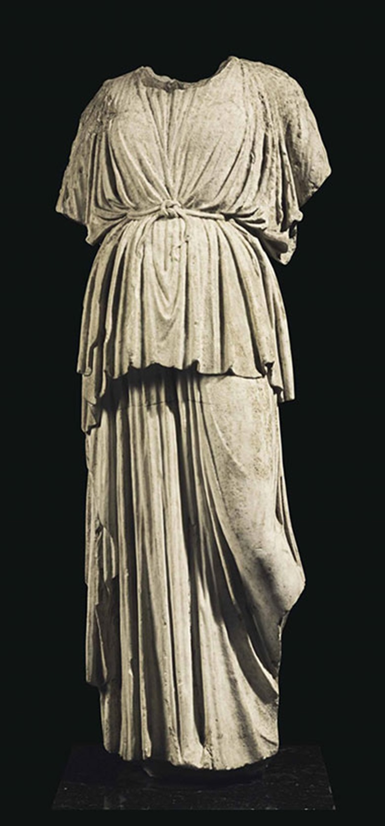 A Roman marble Athena. C. 1st century AD. 54 in (137 cm) high. This lot was offered in Antiquities on 25 October 2016 at Christie's in New York