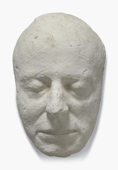 Seven plaster life masks and heads. Late 19th century and later. Including Dr. Samuel Johnson, after Joseph Nollekens; Thomas Bland death mask, cast by P. J. Hone; Inigo Jones, a female mask; a Classical head; a male head, together with a fibreglass head of David after Michelangelo. Estimate £1,000-2,000. This lot is offered in Interiors on 26 October 2016 at Christie's in London,