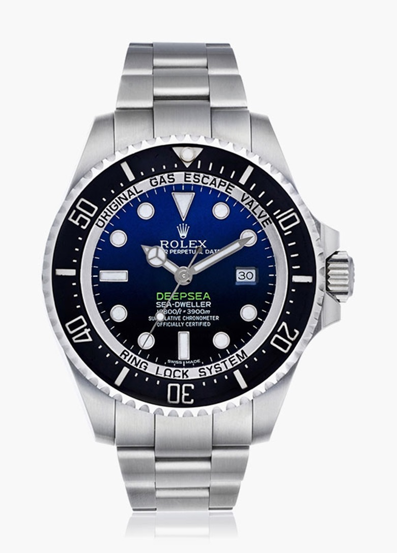 Rolex Deepsea Sea-Dweller D-Blue, Ref. 116660. Estimate $8,000-12,000. This lot is offered in Watches Online Auction, 12-26 October 2016, Online