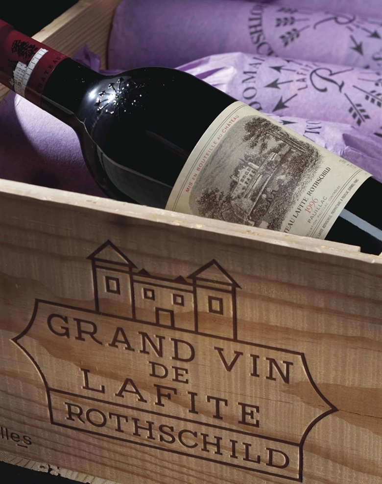 Château Lafite-Rothschild 1996. 12 bottles per lot. This lot was offered in Fine Wines and Spirits Featuring the Exceptional Collection of Jay Stein on 21 October 2016 at Christie's in New York and sold for $11,638