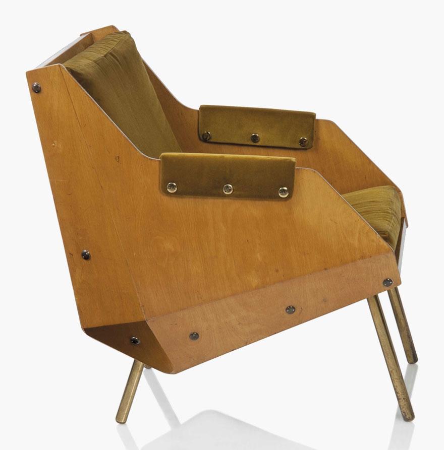 Carlo De Carli (1910 1999), An Important Armchair, 1949. Original