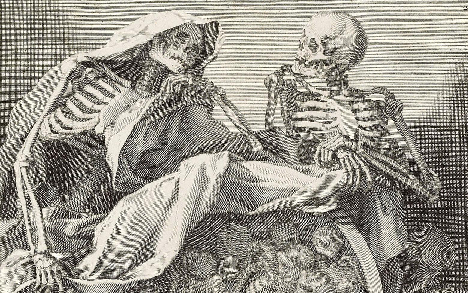 Death, desire and dark visions