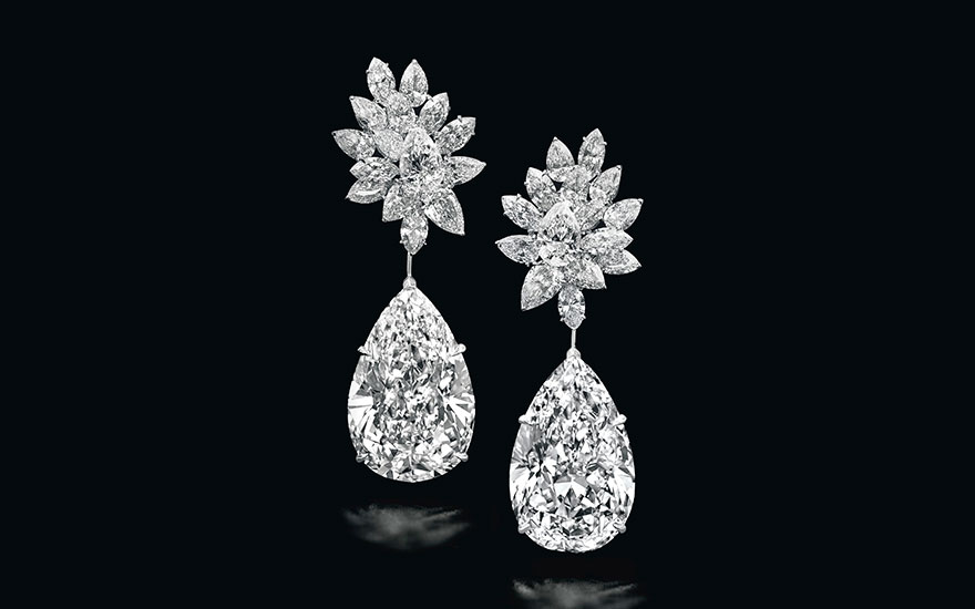 The World S Most Sought After Pear Shaped Diamonds