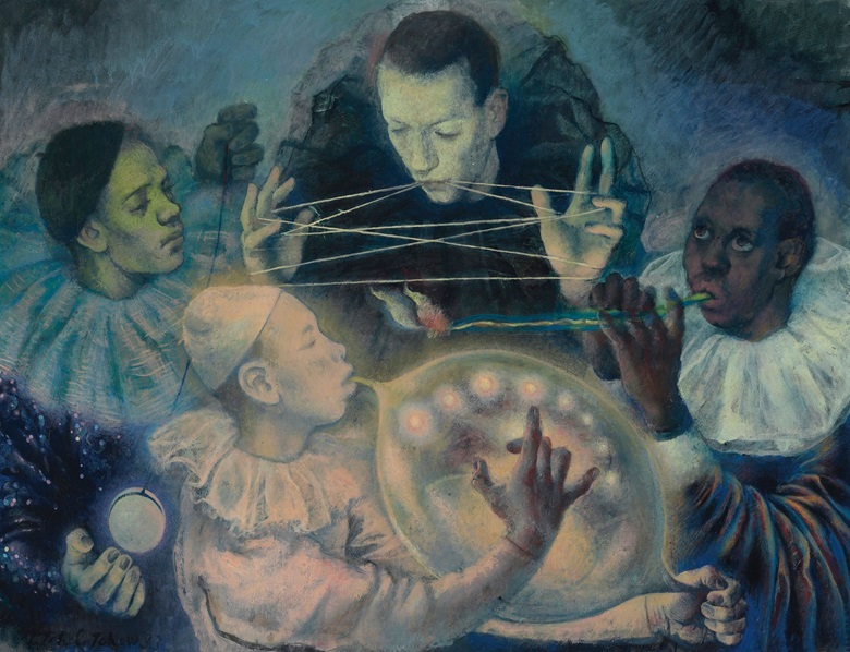 Pavel Tchelitchew, The Concert, 1933. Estimate £250,000-350,000. This work is offered in A Surreal Legacy Selected Works of Art from the Edward James Foundation on 15 December at Christie's London