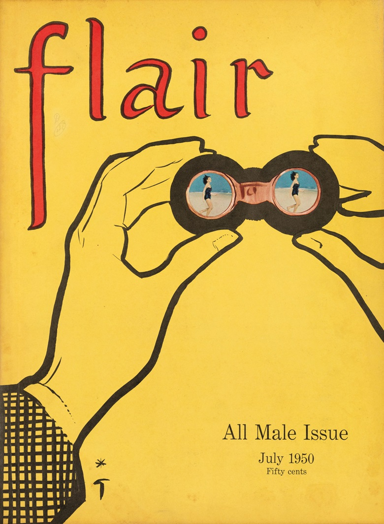 The July 1950 issue of Flair magazine, which existed for just 12 months but was hugely influential