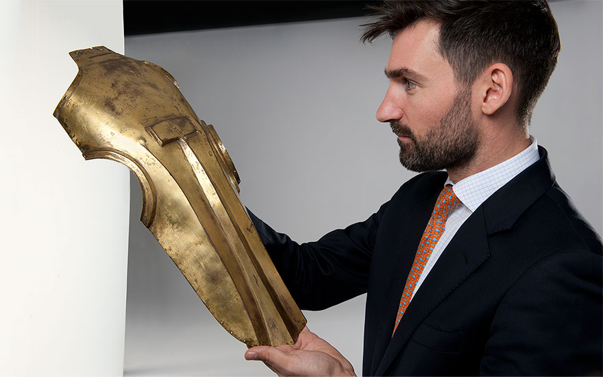 5 minutes with… A piece of Ottoman armour for a horse