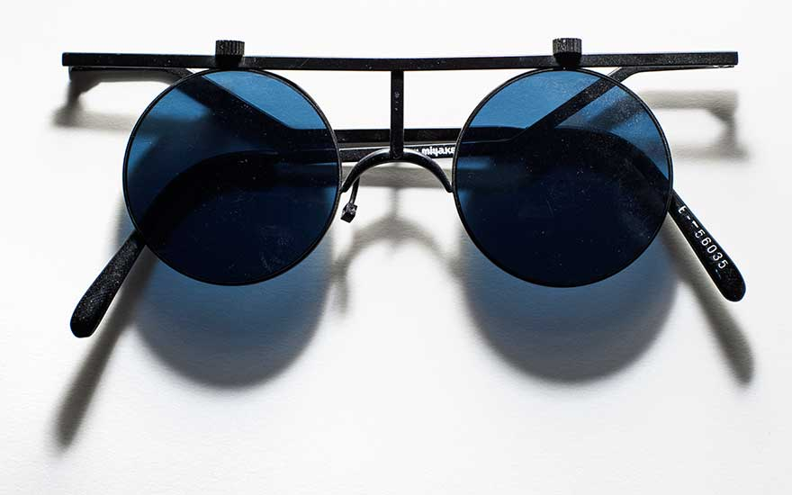 Jean-Michel Basquiat's (1960-1988) sunglasses. Photography Henry Leutwyler