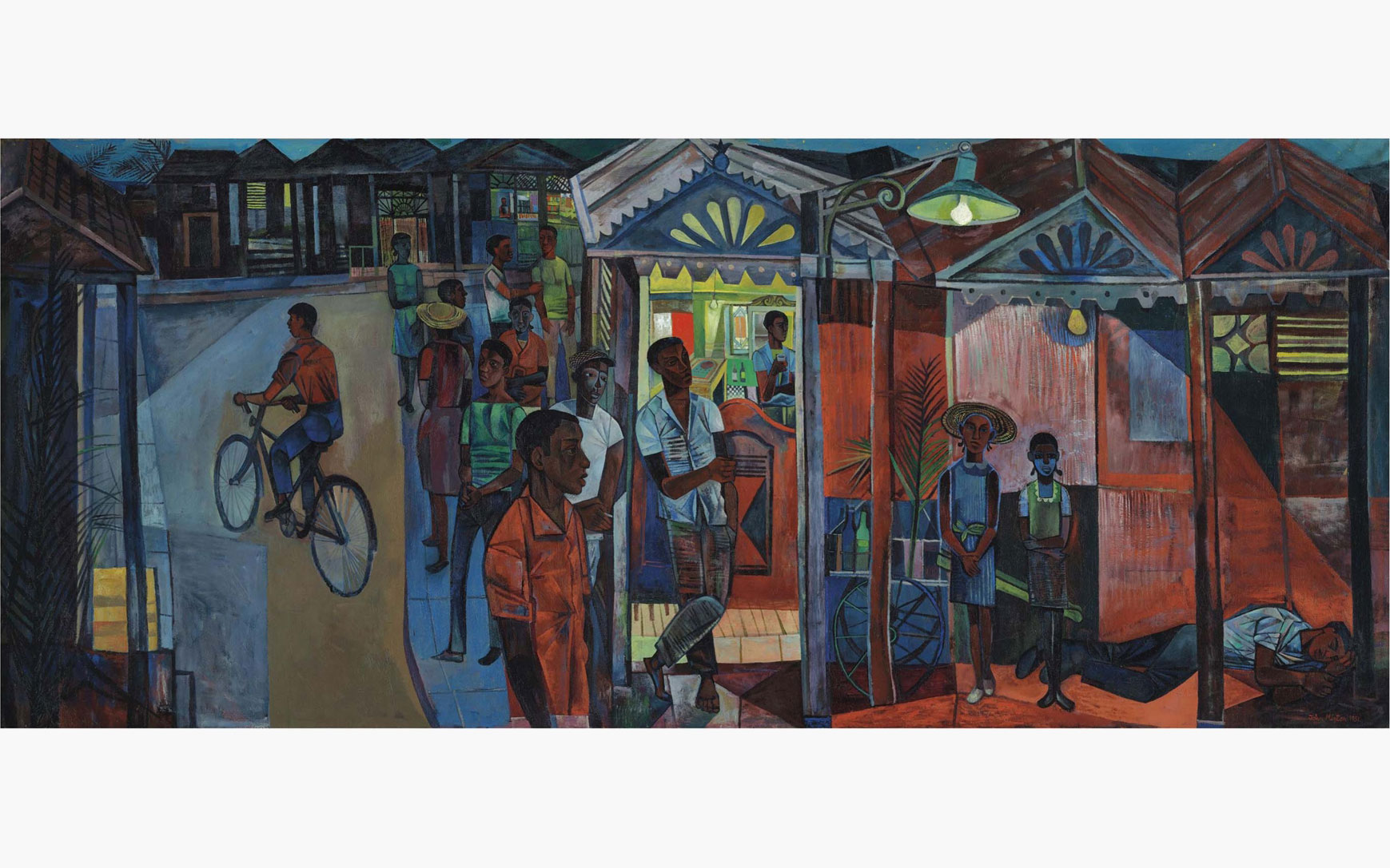 Rediscovered The vast John Minton painting unseen in public for 65 years