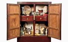 Inside a cabinet of curiositie auction at Christies