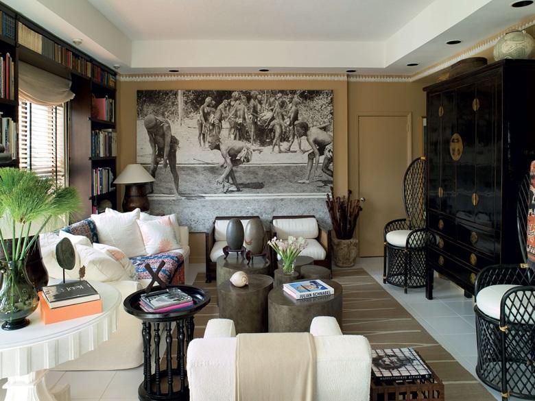 Interior by Juan Montoya. Photograph by Ken Hayden