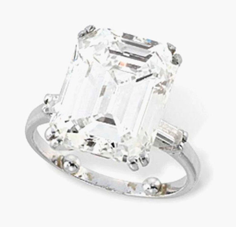 A single-stone diamond ring. Estimate £90,000-120,000. This lot is offered in Important Jewels on 30 November 2016 at Christie's in London, King Street