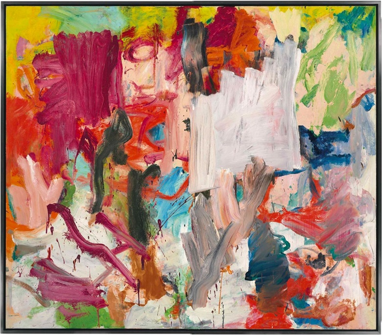 Willem de Kooning (1904-1997), Untitled XXV, 1977. Oil on canvas, 77 x 88 in (195.7 x 223.5 cm). Sold for $66,327,500 on 15 November 2016