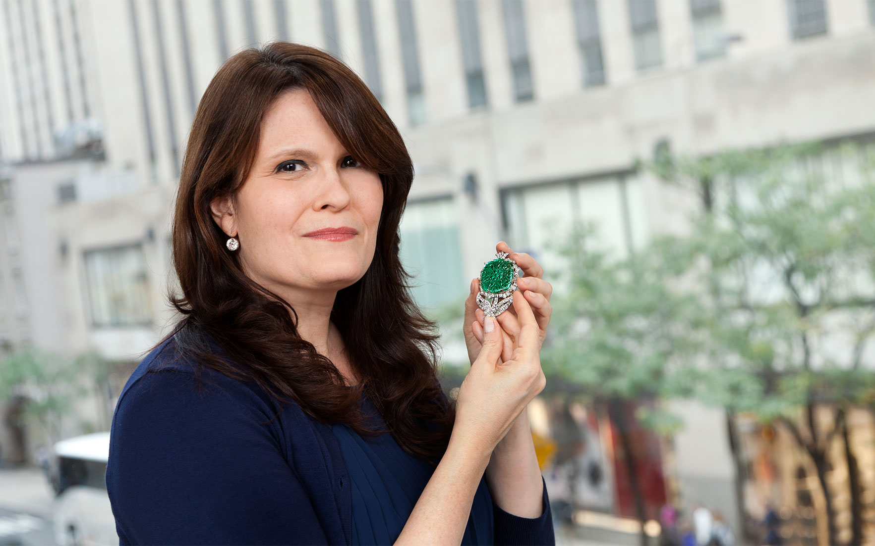 5 minutes with… A Cartier emerald brooch