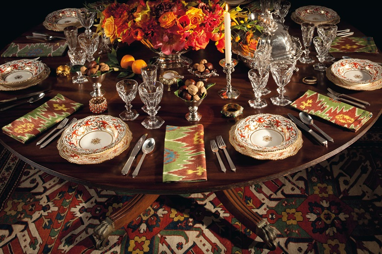 A Thanksgiving Table Set By Stacey Bewkes And Alex