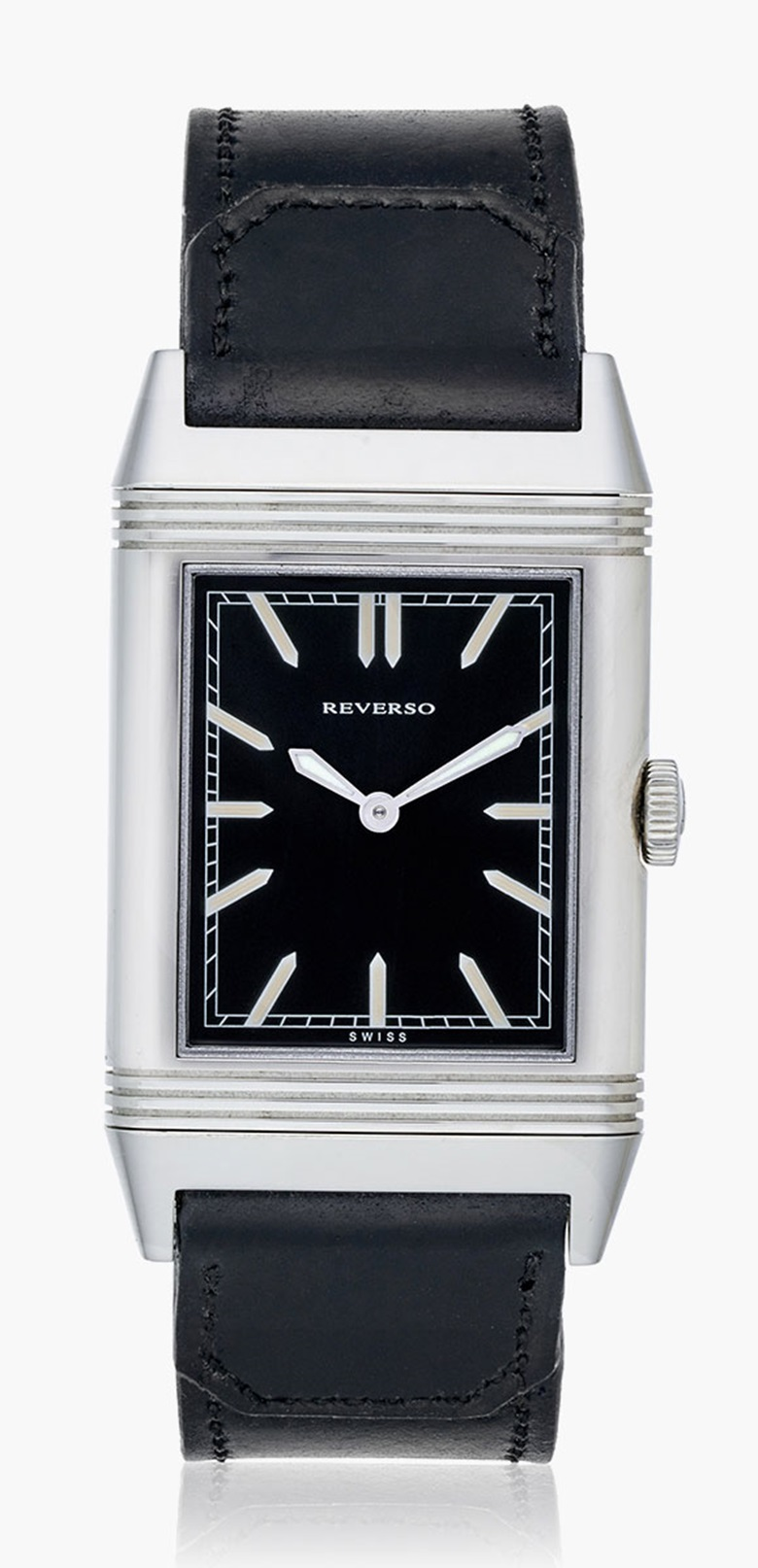 Jaeger-Lecoultre New York City skyline reverse. Estimate $6,000-9,000. This lot is offered in Christie's Watches Online Time for the Holidays, 23 November–7 December 2016, Online