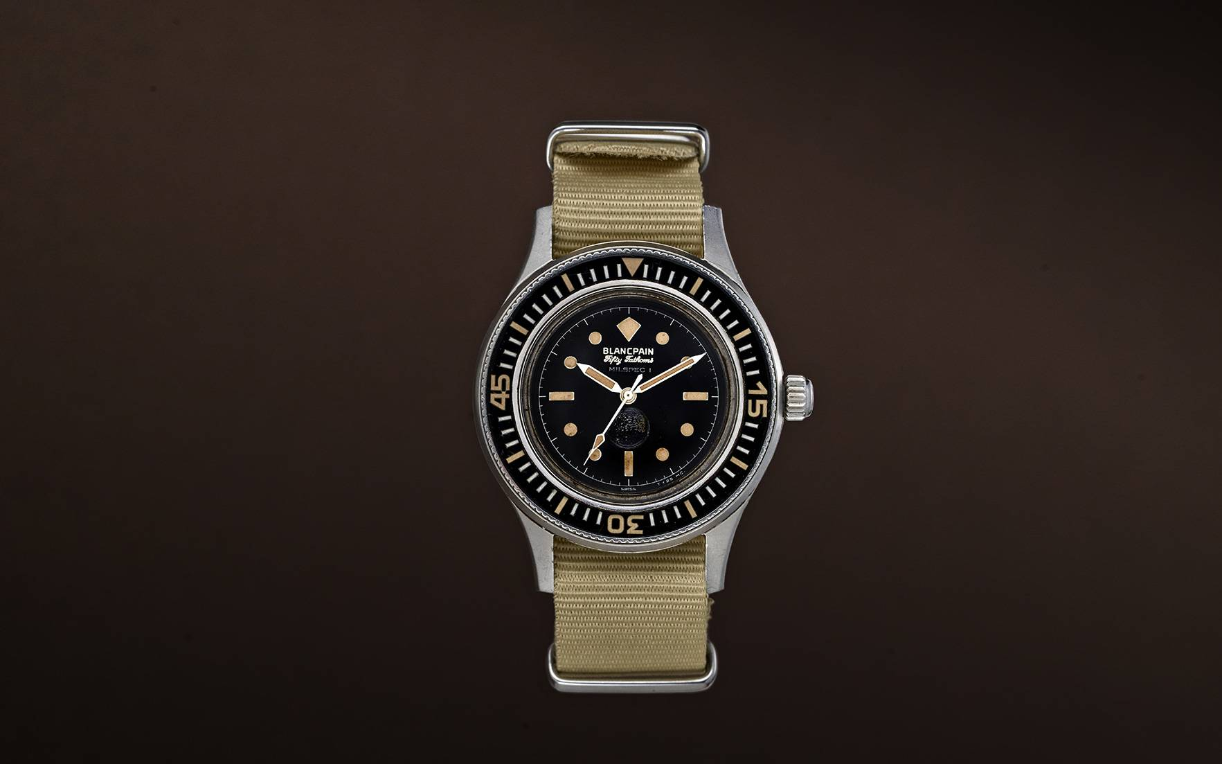 The Blancpain Fifty Fathoms Mi
