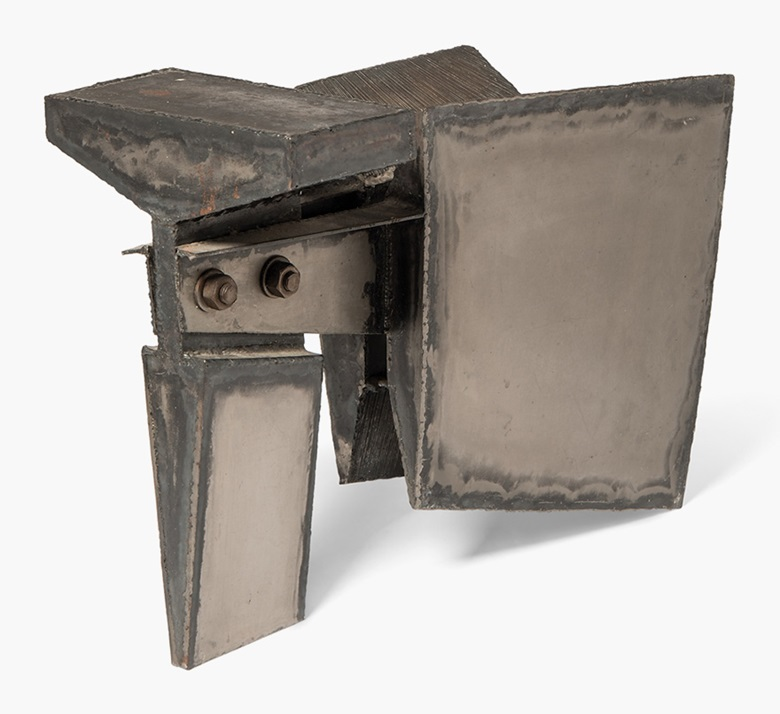 John Hoskin (1921-1990), Hammer Head. Welded steel, 19 in (48 cm) long. Estimate £4,000-6,000. This lot is offered in ModernBritish Art Online, 2-13 December 2016